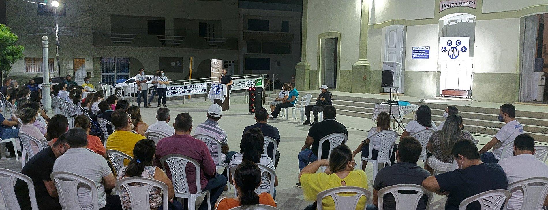 Vereadores prestigiam roda de conversa realizada pela Associação de Pessoas com Deficiência de Apodi